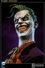 Sideshow Collectibles DC Comics THE JOKER 1:1  LIFE SIZE BUST Scale Sold Out