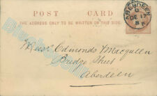 More details for 1888 postcard from aberdeen jute co to a solicitor or accountant