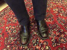 *Vintage Burgundy Leather Side Zip Beatle Boots*Oxblood Ankle Chelsea Chukka 9.5