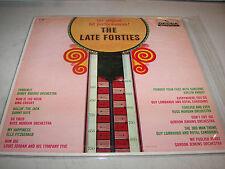 THE LATE FORTIES ORIGINAL HIT PERFORMANCES LP VG+ Decca DL4008 1959