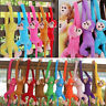 Colorful Long Arm Monkey Hanging Soft Plush Doll Stuffed Animal Kids Baby Toy ld