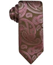 *BRAND NEW* SUEDE FEEL PAISLEY D//BROWN MENS BOWTIE B348