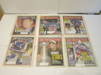 1999 Lot of 35 The Hockey News NHL Issues Farewell Gretzky And Maple Leaf Garden