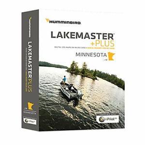 Humminbird 600021-10 Lakemaster+ Maps, Minnesota V4 (60002110)