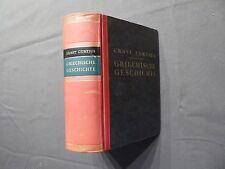 Buch, Ernst Curtius, Griechische Geschichte, illustriert, DBG 1935