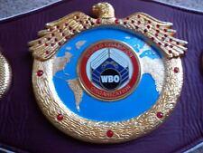 "Boxing WBO Replica, Kick Boxing, MMA, Grappling Championship Belt 48"" Fur Back"