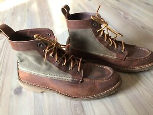 Red Wing Weekender Canvas Moc 3335 Braun Gr.42
