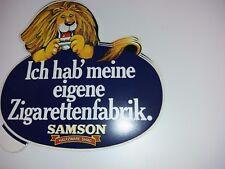 Aufkleber Zigarettenwerbung - Samson- Ich hab meine eigene Zigarettenfabrik