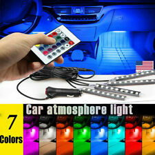 Led Car Usb Charge Interior Accessories Floor Decorative Atmosphere Lamp Light (Fits: Daewoo)