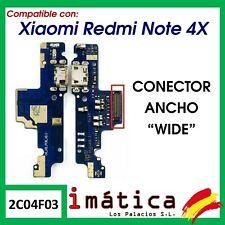 PLACA DE CARGA PARA XIAOMI REDMI NOTE 4X WIDE ANCHO CONECTOR MICRO USB MICROFONO