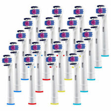 Fit For Braun Oral-B 3D White EB18-A Electric Toothbrush Replacement Head 20 PCS