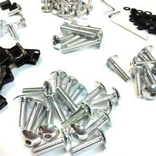 Complete Fairing Bolts Screws Fasteners Kit For Yamaha YZF 1000 R1 600 R6 Silver