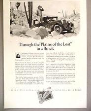 Buick Motor Car PRINT AD - 1927 ~ C.W. Hatton & C.L. Franklin
