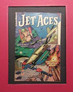 JET ACES #2  1952 FICTION HOUSE   PRE CODE WAR    WHITE P  NO RESTO