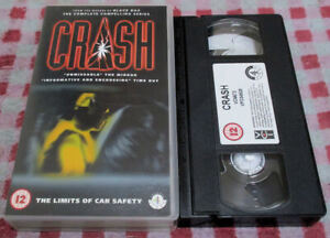 Crash - The Limits Of Car Safety - Original Channel 4 VHS video