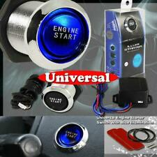 Blue Illumination Car Engine Start Push Button Ignition Starter new