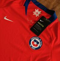Nike Damen Fußballtrikot Chile 2019 Stadium Home Heimtrikot Gr S Rot 893947-673