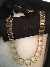 NWT J. Crew 100% Authentic COLORFUL CRYSTAL STATEMENT NECKLACE