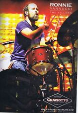 RONNIE VANNUCCI - THE KILLERS original press clipping	21x28cm