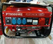 E-Starter Notstromaggregat Benzin Generator Strom Erzeuger 400 Volt u 3x 220 V