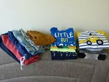 Lot of 14 Pcs Boys Clothes Sz 18-24M: 5 Shorts, 2 Polo, 3 T-Shirts and other