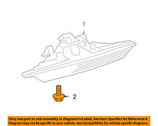 TOYOTA OEM High Mounted Stop Lamp-Rear Lamps-High Mount Lamp Screw 8157712330