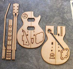 Guitar Building Templates 1958/1959 Les Paul Standard Guitar Luthier Template