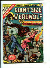 "GIANT-SIZE WEREWOLF BY NIGHT #3 ""Fisherman Collection"" (4.0) 1975"