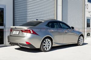 Lexus 13-ON IS300/IS300h/GSE30R F-Sport Style Trunk Spoiler & Roof Spoiler (ABS)