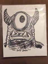 JEFF LAMM M5 BRAVO GREASEBAT ORIGINAL SKETCH DESIGNER CUSTOM TOY ARTIST NEW RARE
