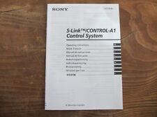 Sony S - Link Control A1 Bedienungsanleitung TOP !!! Reinschauen !!!