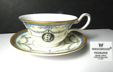 Wedgwood MADELEINE Cup & Saucer, Made in England, Mint