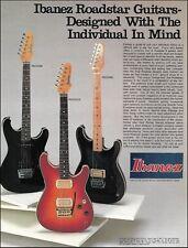 Ibanez 1984 Roadstar II Series RS 335 315 1000 guitar ad 8 x 11 advertisement
