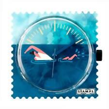 Stamps Uhr Zifferblatt Swim