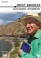 GREAT AMERICAN RAILROAD JOURNEYS series 2 two. 4 discs. New sealed DVD.