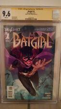 Batgirl #1 CGC 9.6 AUTOGRAPHED by GAIL SIMONE