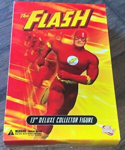 "FLASH DC Direct Comics Universe 13"" Deluxe Collector Figure in Box 1:6"