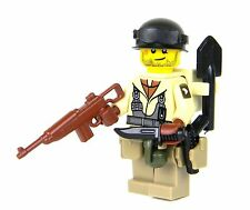 101st Paratrooper WW2 US Army Builder (SKU1) made with real LEGO® minifigure