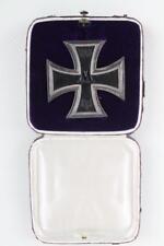 Wk1 medalla Cruz de Hierro 1914 premio gemarkt m en el estuche insignia