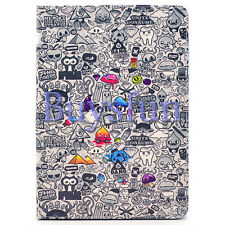 Cartoon Pattern Flip Leather Cover Case for iPad Air iPad 5 5th