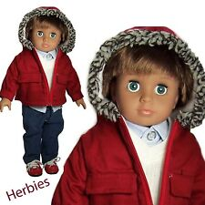 "Molly P Originals Dolls Bobby, 18"" Fashion Doll Vinyl & Cloth"