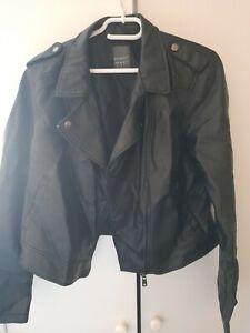Ladies Primark Black Jacket Uk Size 14