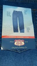 Women's Route 66 Jeans Classic Fit Size 20 Long NWT FAST SHIPPING $18.99 New