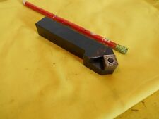 "CARBOLOY SNMG 432 INDEXABLE CARBIDE INSERT 3/4"" LATHE TOOL HOLDER SDL-12-4"
