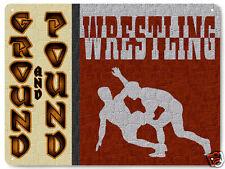 UFC wrestling Metal sign WWE MMA mancave retro gift  high school boys room 280