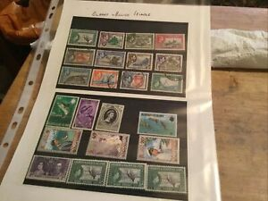 Gilbert & Elice Islands Used Stamps Lot