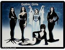 Sexy Gothic Girls Refrigerator / Tool Box / Magnet Man Cave