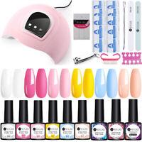 UR SUGAR Nail UV Gel Polish 54W Nail Art Dryer LED Lamp Summer Series Tools Kit