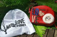Love Moschino Tasche Rot Umhängetasche Borsa Pu Rosso Designer Luxus Handtasche