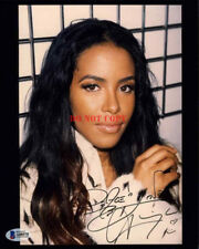 Aaliyah Signed 8X10 PHOTO AUTOGRAPH Reprint